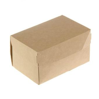 Крафт коробка из картона, 15х10х8,5 см купить в интернет-магазине ФлориАрт